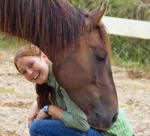 Foto Pferdephysiotherapeutin